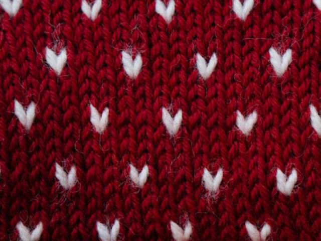 "The charming ""lus"" pattern (above) is a signature of Norwegian stranded knitting. What does ""lus"" mean?"