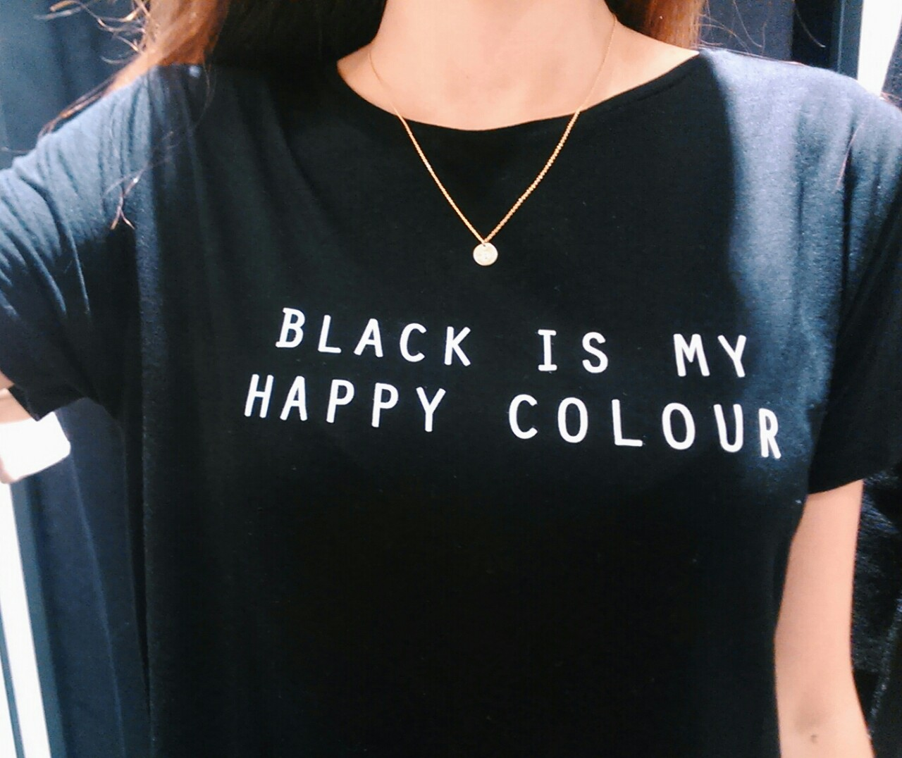 T shirt black is my happy color - T Shirt Black Is My Happy Color 44