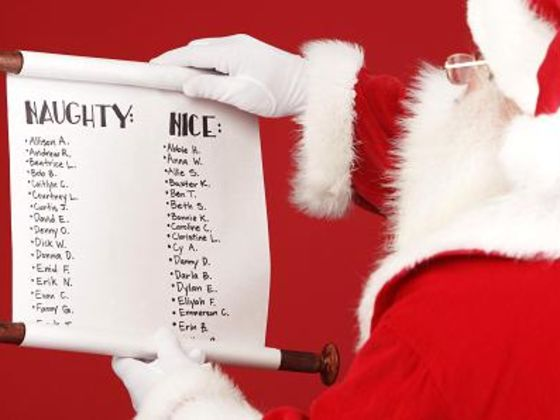 Would You Be On The Naughty Or Nice List?
