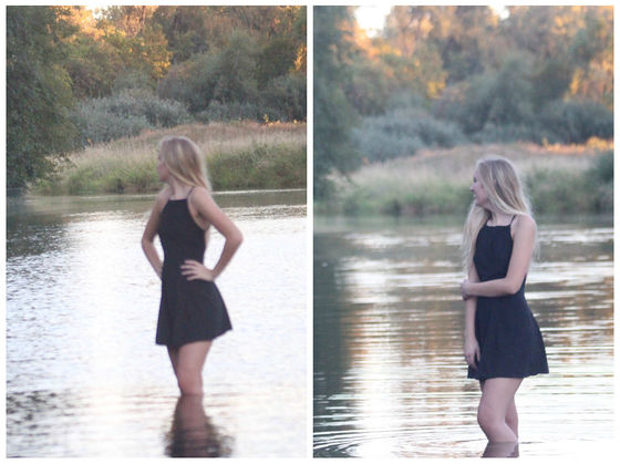 Girls senior pictures photobombed by naked man and his