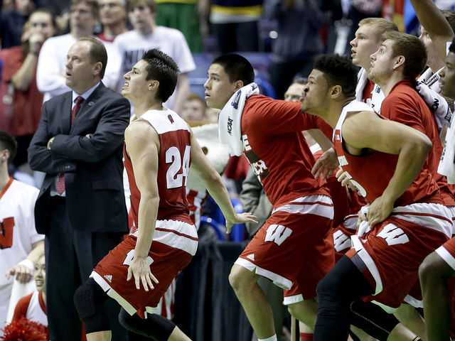 Bronson Koenig hit one of the shots of the tournament to put Wisconsin over which No. 2 seed in round of 32?