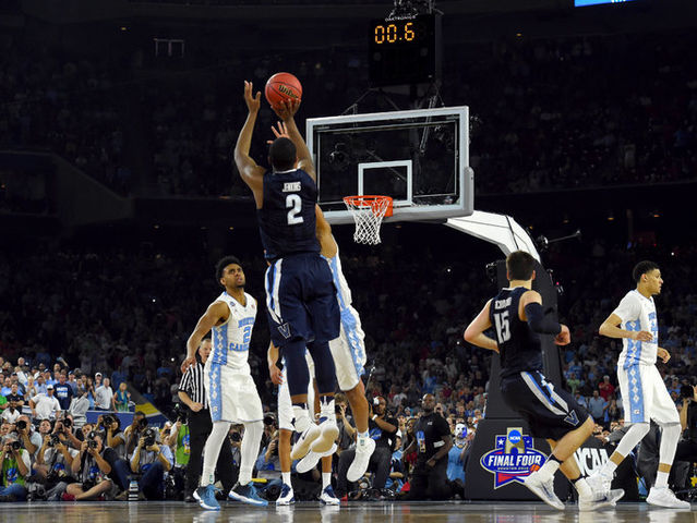 Jenkins shot will live on as one of the biggest in NCAA history as it gave Villanova it's first National Title since 1985.
