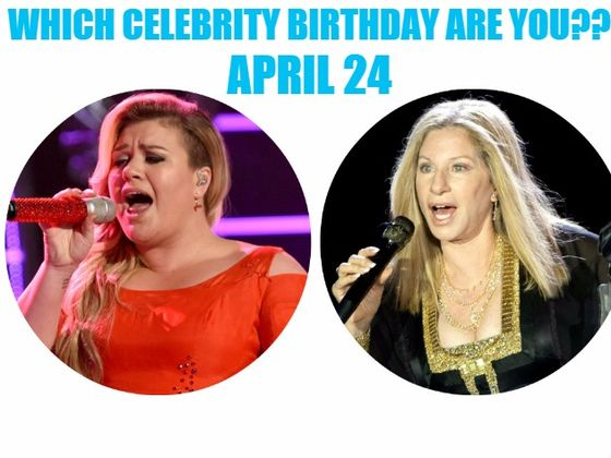 April 24 Famous Birthdays - MyBirthday.Ninja