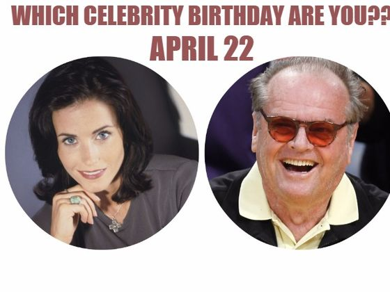 Gossipela | Celebrity birthdays for the week of April 21-27