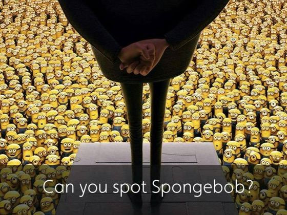Can You Spot SpongeBob In Less Than 10 Seconds?