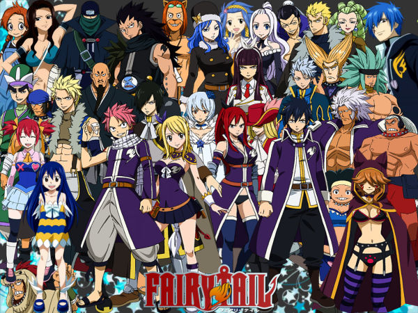Pick The Fairy Tail Characters Quiz