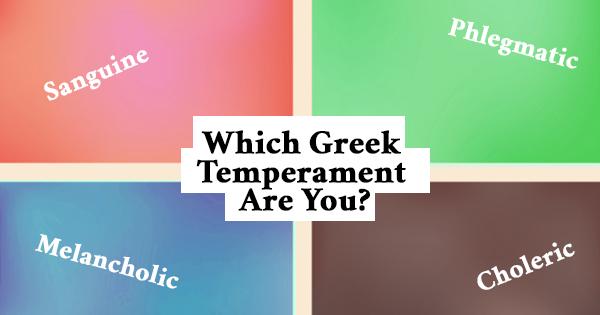 Which temperament are you