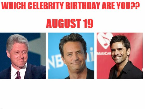 august 19 Birthdays | Today Birthdays