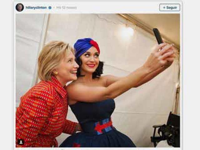 Antiga apoiadora de Clinton, a cantora se apresentou em um show para arrecadar fundos para a campanha da democrata