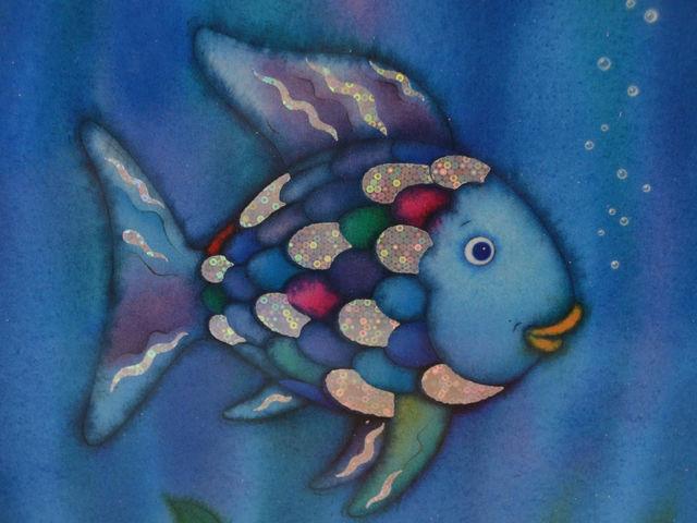 15 important pieces of wisdom found in children 39 s books list for Rainbow fish children s book