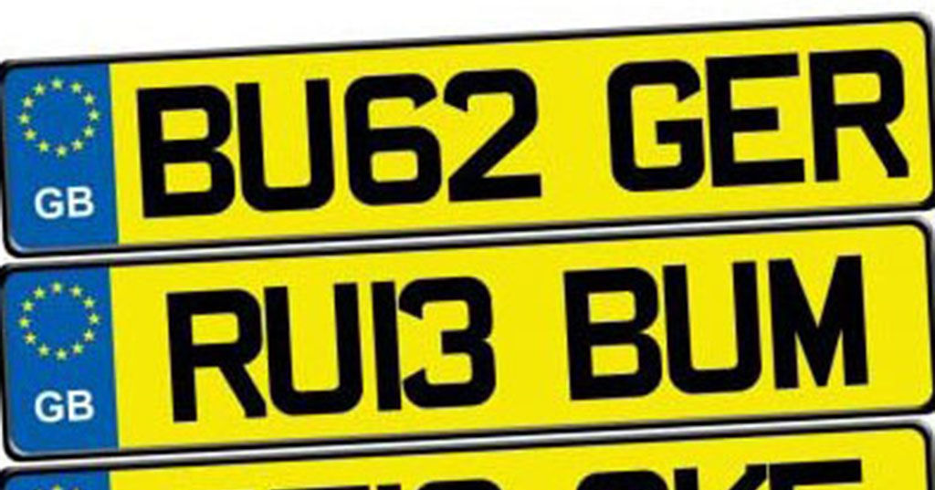 Are these UK car number plates banned or not? | Playbuzz