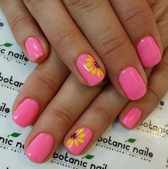 Make Life Easier Beautiful Summer Nail Art Designs To Try: 21 Super Cute Manis To Do This Summer