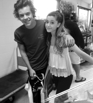 Ariana Grande And Harry Styles Tumblr 2013
