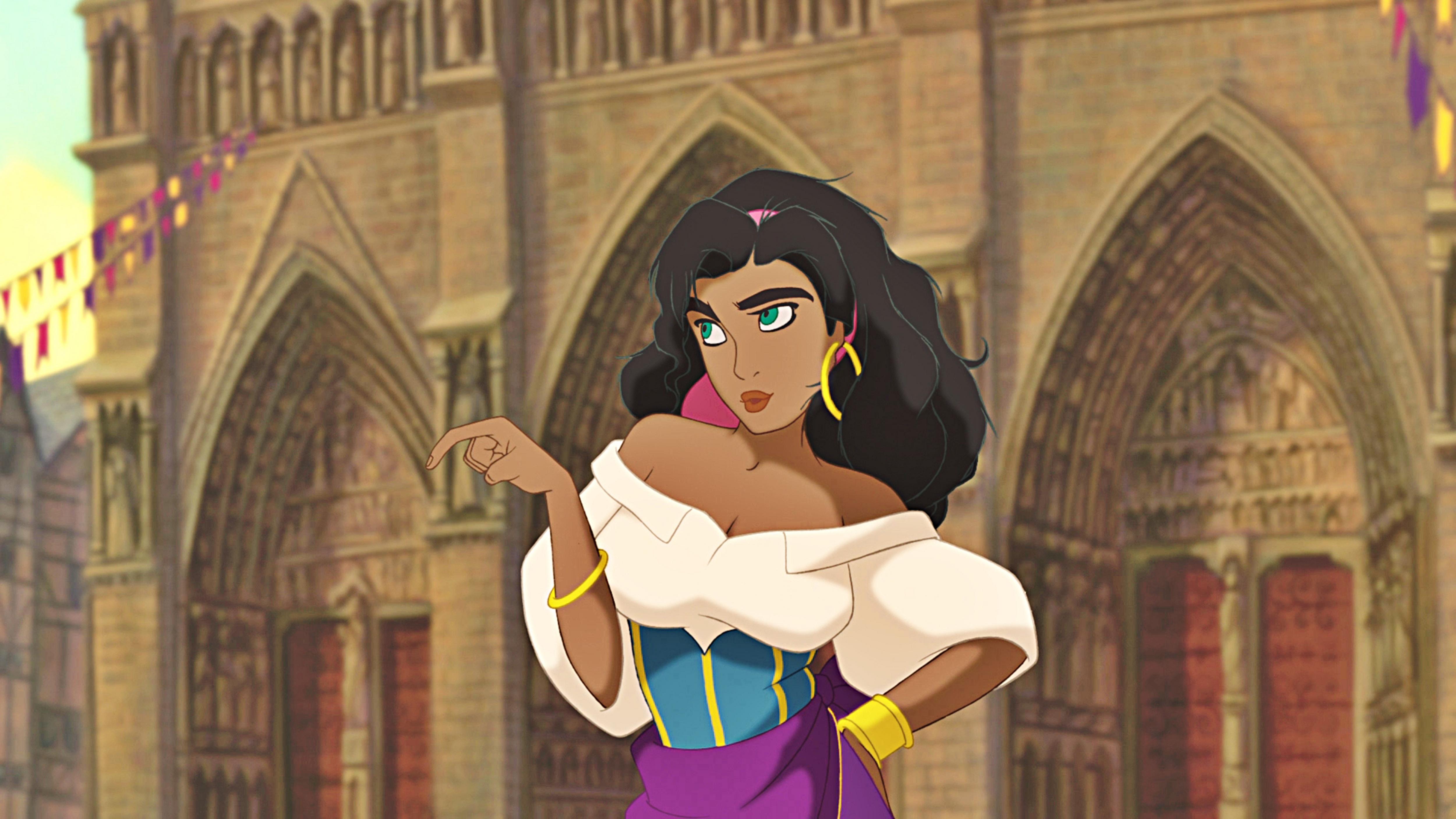 Screencaps Esmeralda Wallpaper