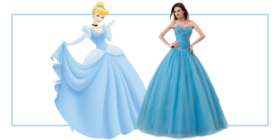 Beautiful Disney Princess Inspired Prom Dresses Photos - Styles ...