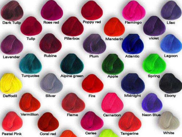 Как сделать цветную краску