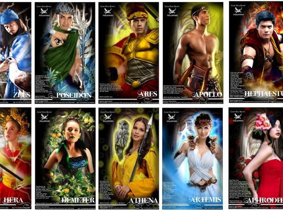 The God And Goddesses Of Greek Mythology
