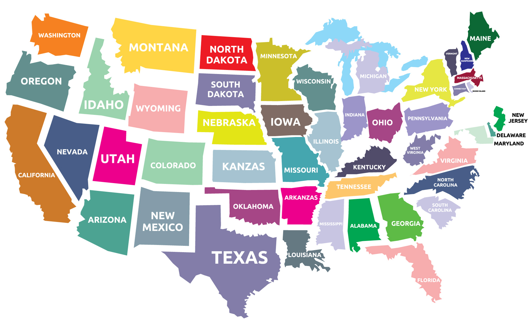Printable Us Time Zone Map Time Zones Map Usa Printable Time - Map of us time zones