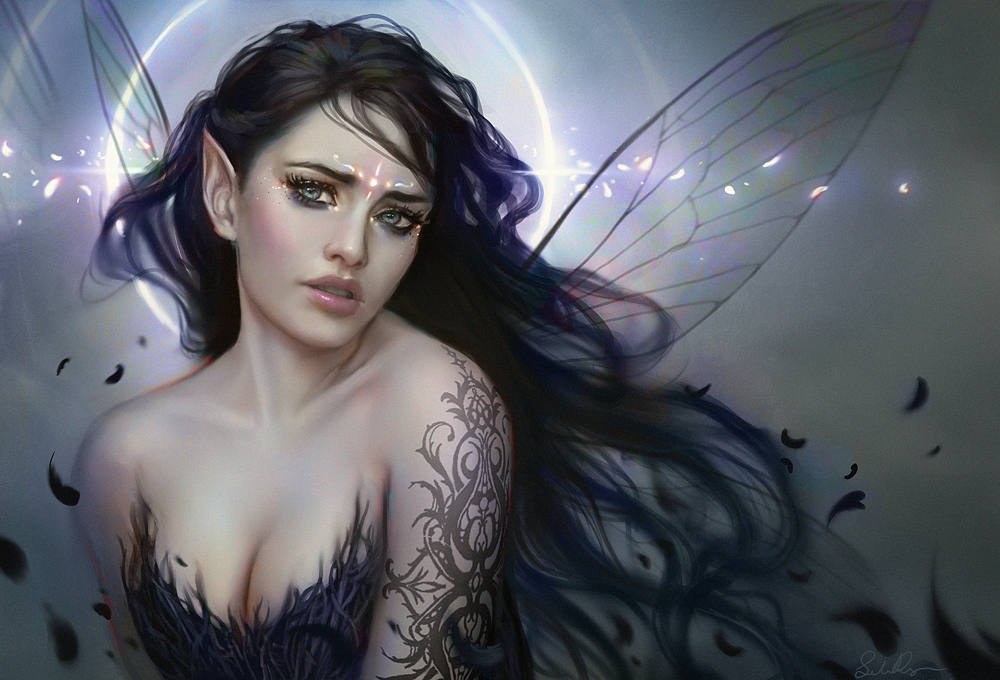 Ángeles,hadas y seres míticos