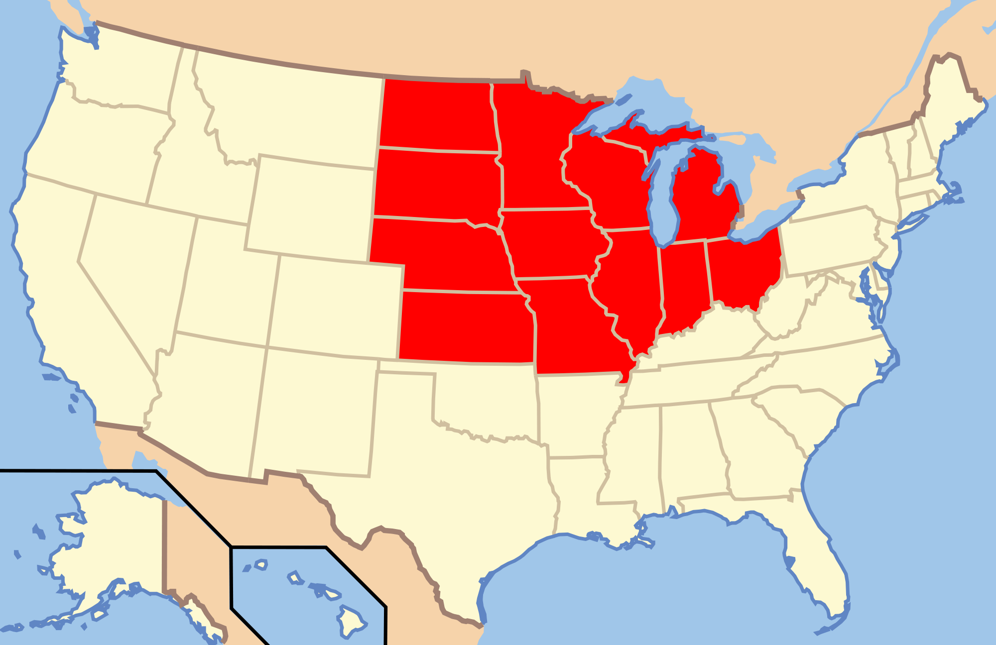 Filemap Of Usa Showing State Namespng Wikimedia Commons Printable United States Of America Map With