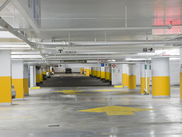 If you went shopping at the Bay at your local mall anywhere in Canada, where would you park your car?