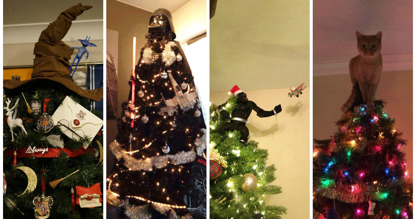 The Top Seven Most Awesome Christmas Tree Toppers Of 2016