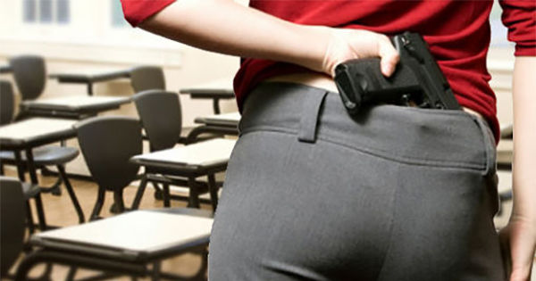 should teachers be armed Donald trump on sunday said some teachers in the us should be armed with guns inside their classrooms.
