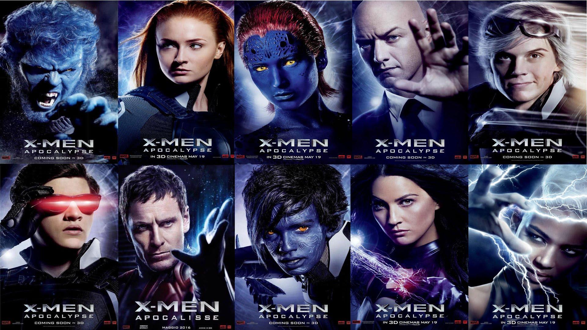 X Men Com Apocalypse