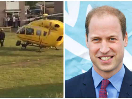 Prince William Rescued A Man Who Had Been Stabbed In His Air Ambulance! How's THAT For Prince Charming?