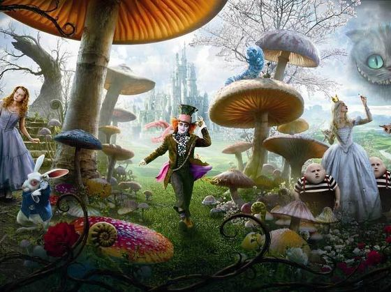 Which Tim Burton's Alice In Wonderland Character Are You?