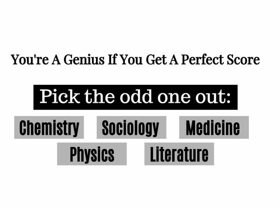 Only A Genius Will Get A Perfect Score In This IQ Quiz