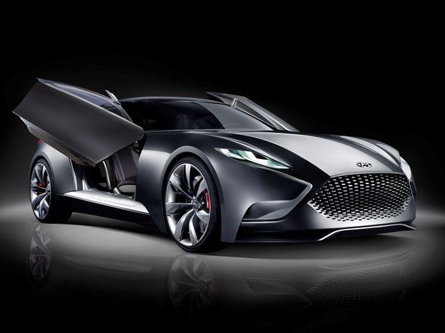 top best looking hyundai concept cars of all time playbuzz. Black Bedroom Furniture Sets. Home Design Ideas