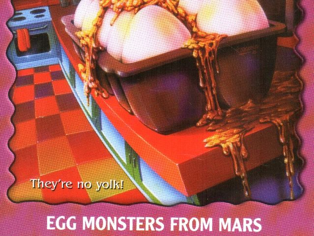 egg monsters from mars book - photo #7