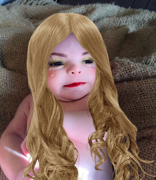 17 Times People Used Makeup Apps To Make Babies Look Fabulously Horrifying Playbuzz