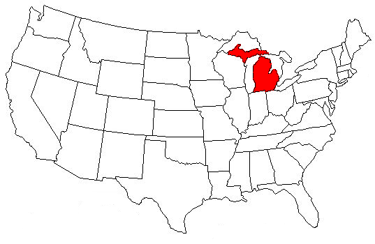 US Capital Quiz Playbuzz - Michigan on the us map