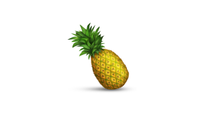 Pineapple Emoji Background