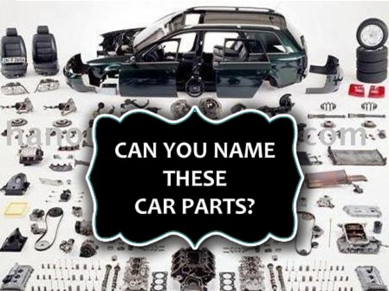 Can You Name These Car Parts? | Playbuzz