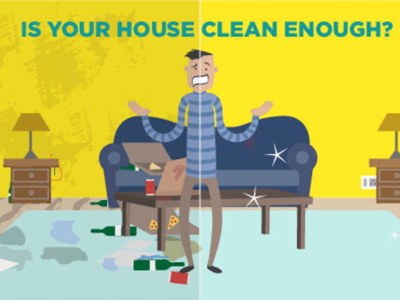 is your house clean enough ?   playbuzz