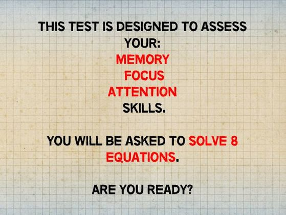 97% Can't Pass This Numerical Memory Test, Can You?