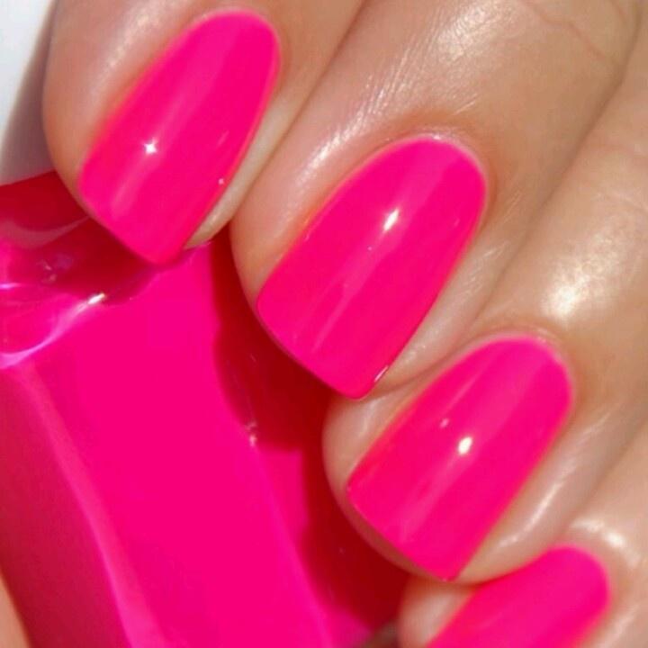 Attractive Hot Pink Nail Polish Designs Image Collection - Nail Art ...