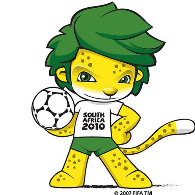 Mascote da Copa 2010