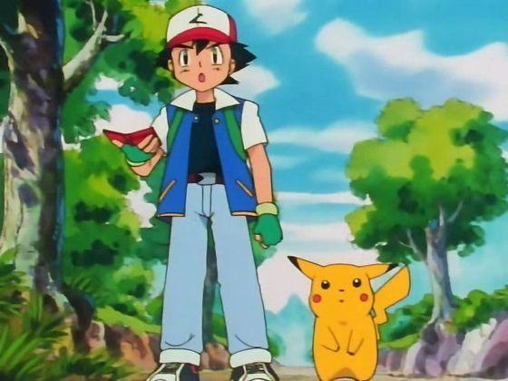 Ash Ketchum Pokemon Trainer Anime Costume Set - Child