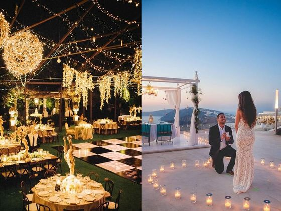 Create Your Perfect Wedding And We'll Tell You When & Where You'll Get Engaged