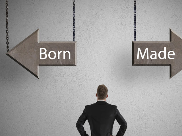 are entrepreneurs born or made pdf