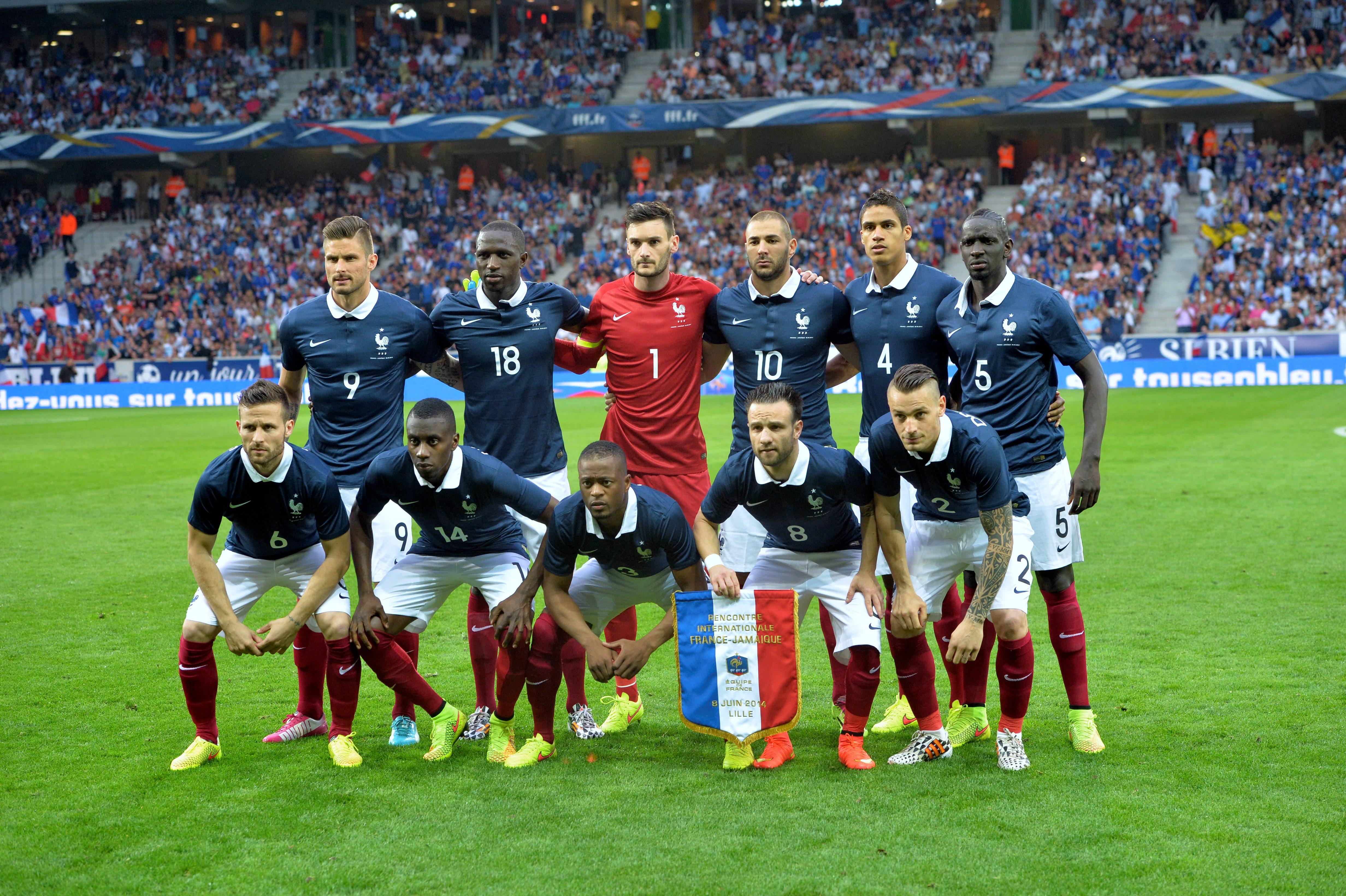 Rencontre equipe de france euro 2018