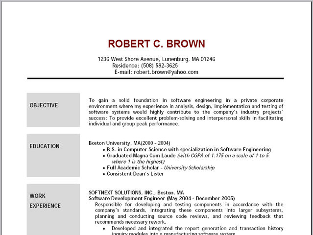 the top 11 college student resume need to knows by a college