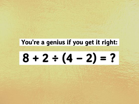 Only People With An IQ Score Of 154-165 Passed This Tricky General Knowledge Test