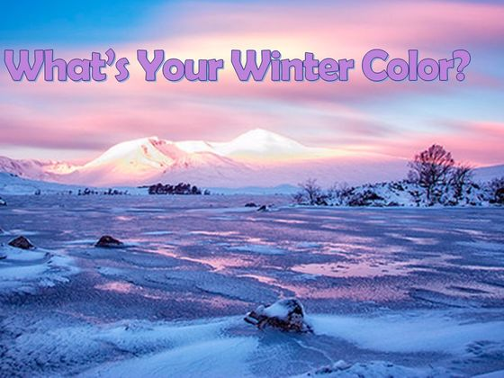 What's Your Winter Color?
