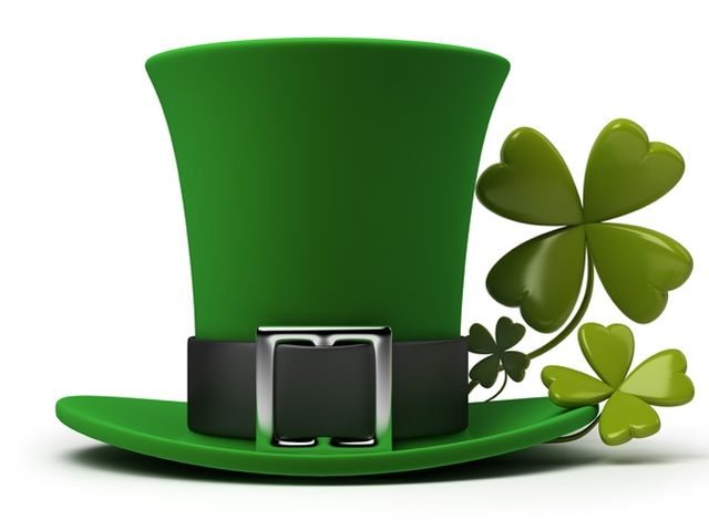 Let's get you started! Are you polluted in green from head to foot on St. Patrick's day?