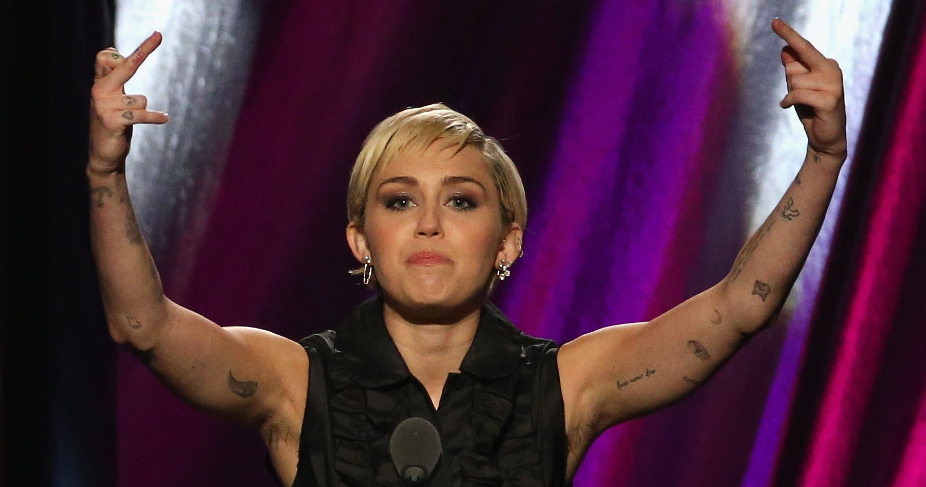 What Do You Think Of Miley's Unshaved Armpits? | Playbuzz